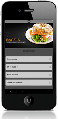 commander bagel par allo à  hot dog saint cloud
